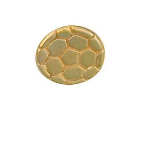 Football Stick Pin 9ct Yellow Gold Made To Order in Jewellery Quarter B''ham